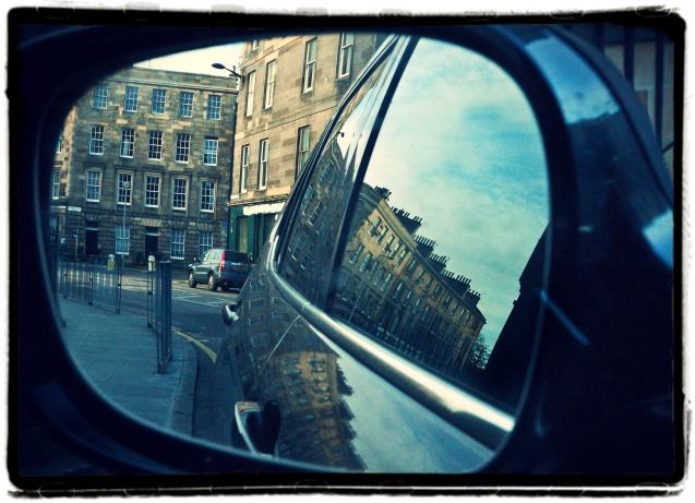 Edinburgh Street Mirror