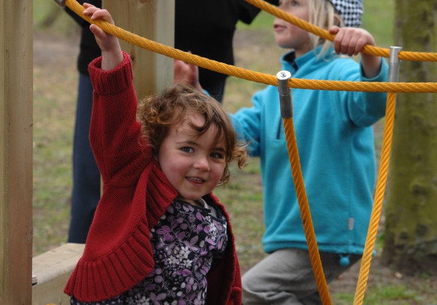 Funding for play equipment